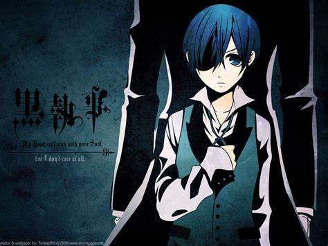 ciel phantomhive wallpapers wallpaper cave