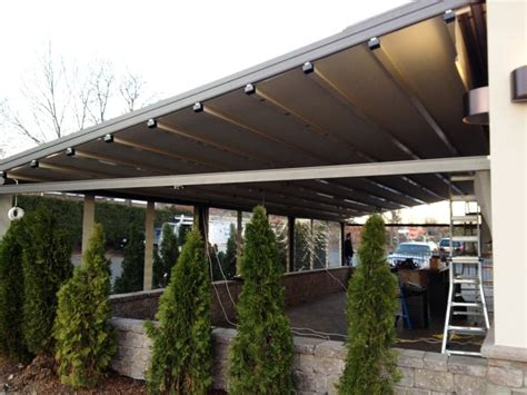 how do retractable awnings work durasol genius a retractable room by window works