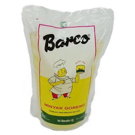 Minyak Goreng Refill 1 Liter barco coconut refill 1 liter