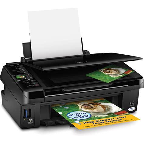 Printer Epson Stylus Tx121 All In One epson stylus nx420 all in one printer wireless c11ca80201 b h
