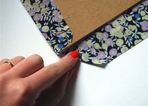 How To Make Notebook Paper Look - craft how to make your own fabric notebook huffpost uk
