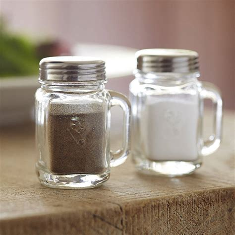 how to go from salt and pepper to all white hair salt and pepper mason jars by the gift oasis