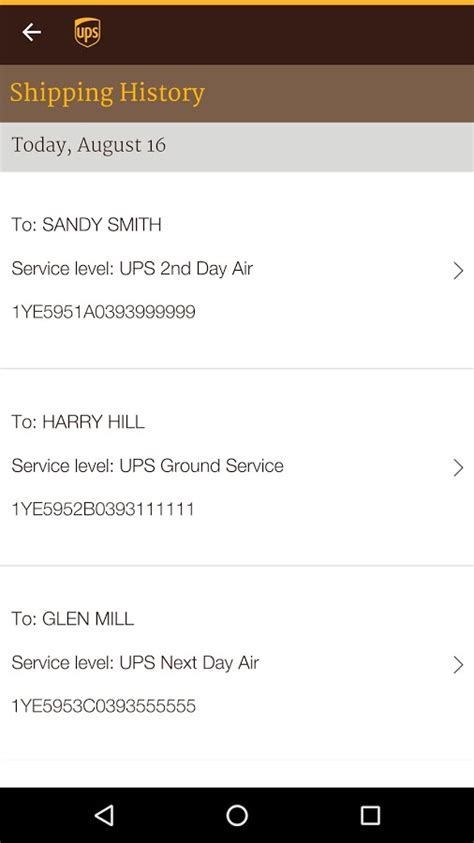 ups tracking mobile ups mobile android apps on play