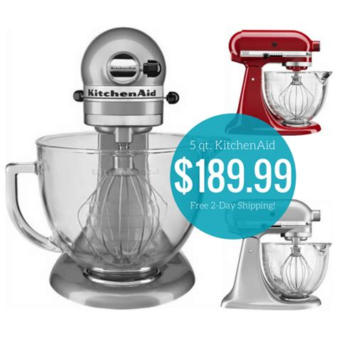 Kitchenaid Mixer Best Deal   Mega Deals and Coupons