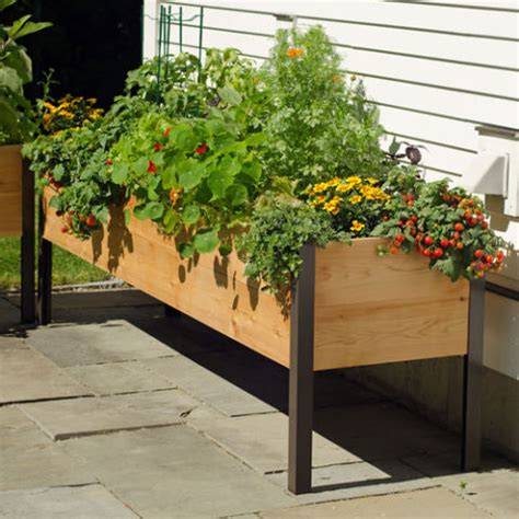 Landscaping Ideas Elevated Flower Beds Raised Flower Beds That Are Better Than Traditional Gardens
