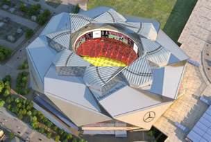 Mercedes In Atlanta Mercedes Stadium Sneak Peek Gafollowers