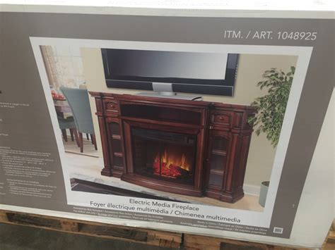 fireplaces electric costco electric fireplace tv console at costco budgetcostco