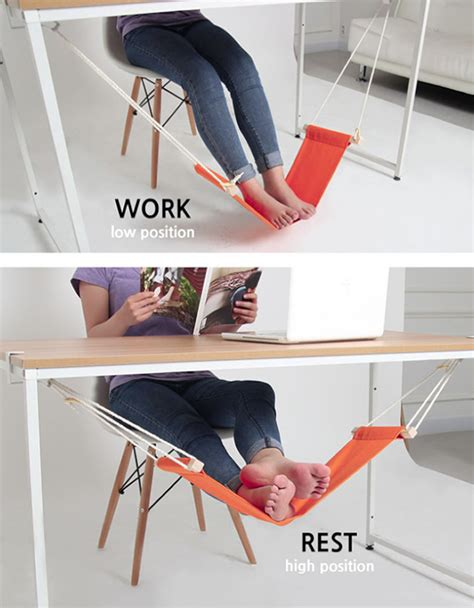 foot hammock for desk under desk hammock is like a holiday for your feet