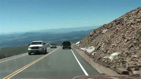 drive up pikes peak hd drive up pikes peak part 14 of 21 heading down high