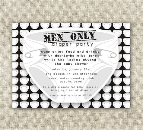 Guys Baby Shower by Baby Shower Invitations Chuggies And