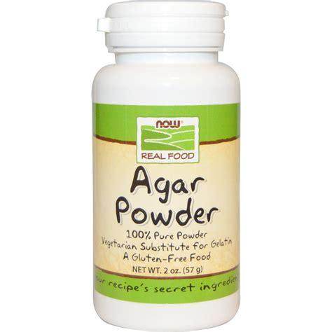 now foods real food agar powder 2 oz 57 g iherb