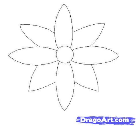 How To Draw Three Flowers