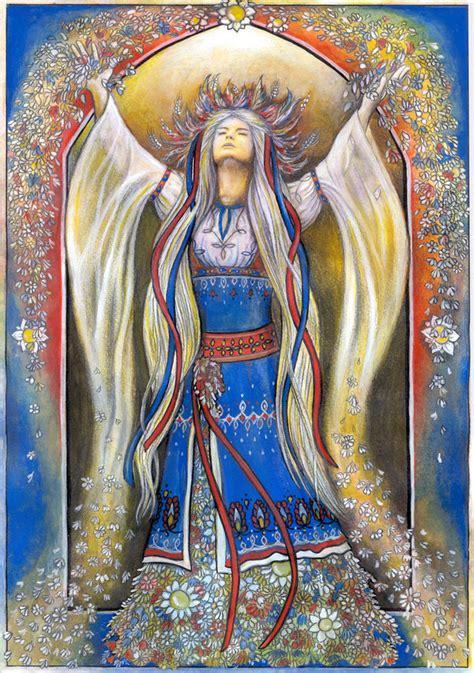 Goddess Lada Slavic Goddesses