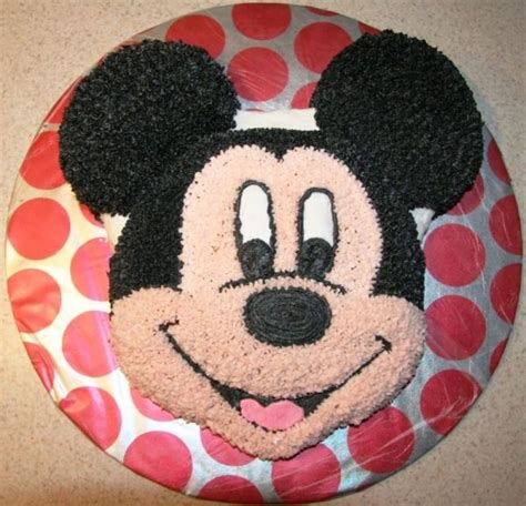 com mickey mouse face cake template disney walt ben