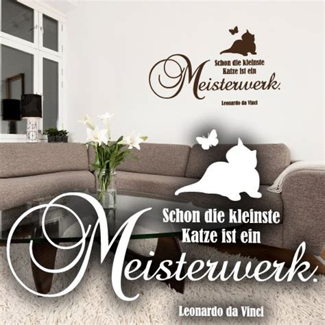 Leonardo Aufkleber Kaufen by Wandtattoo Katze Auf Ast Viele Wandsticker F 252 R