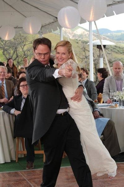 The Office Wedding by The Office See Dwight And Angela S Wedding Album