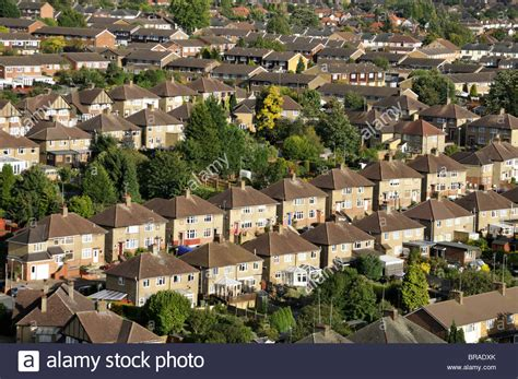house to buy in hemel hempstead rows of residential houses in the suburbs of hemel hempstead stock photo royalty free