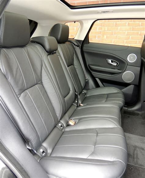 range rover evoque back seat space 2016 range rover evoque hse review wheels ca