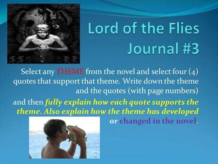 universal theme of lord of the flies literary essays thesis development ppt video online