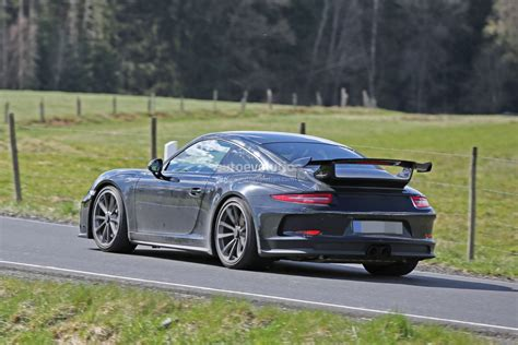 new porsche 911 gt3 2017 porsche 911 gt3 spied on nurburgring to get 911 r 6