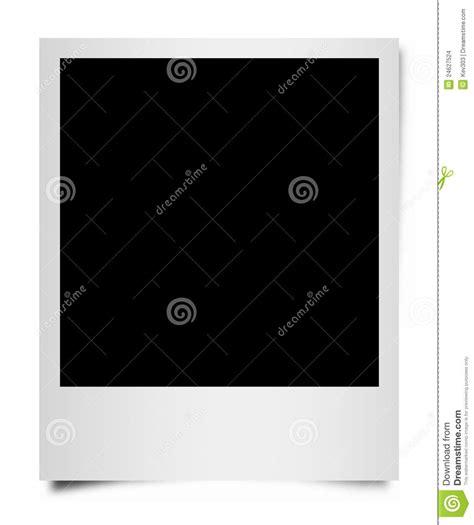 polaroid cornice cornice della pellicola polaroid immagini stock