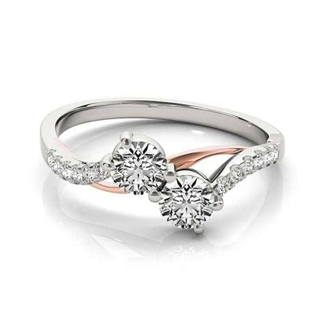1000 images about ever us diamond ring on pinterest rose gold round diamond ring and two tones