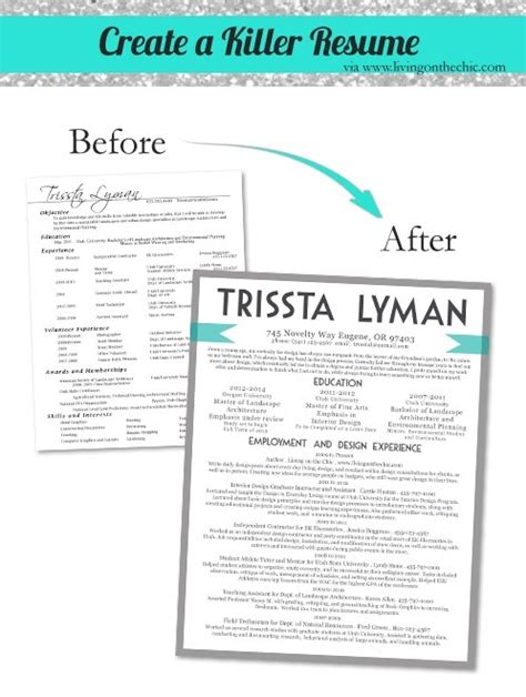 graphic design cv advice 5 tips to create a killer resume resume designs pinterest