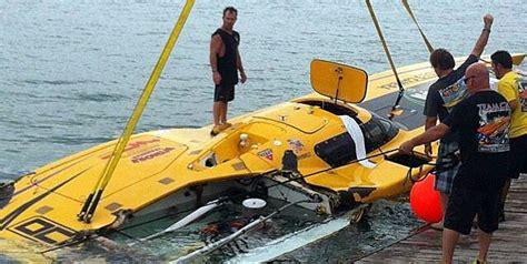 boat crash dream team crc ok after crash during testing in key west