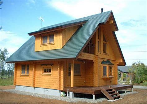 contoh model desain rumah kayu sederhana dirumahku