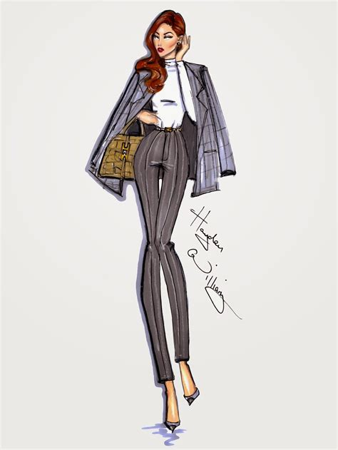 Style On The Go by Hayden Williams Fashion Illustrations Style On The Go