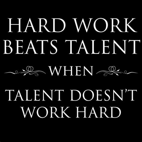 doesn t work work beats talent when talent doesn t work soulay