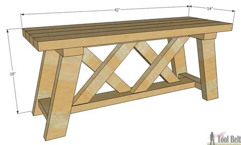 outdoor bench dimensions how to build an outdoor bench with free plans