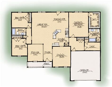 beverly b house plan schumacher homes within schumacher