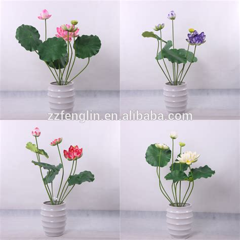 artificial lotus flower nearly high quality artificial lotus flower