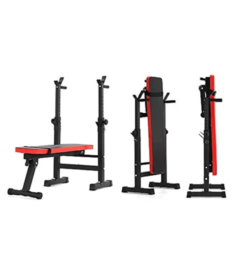 bench bar exercises kobo folding multi exercise weight lifting bench with