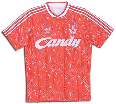 liverpool jerseys 1989 1990 and white home jersey picture retro
