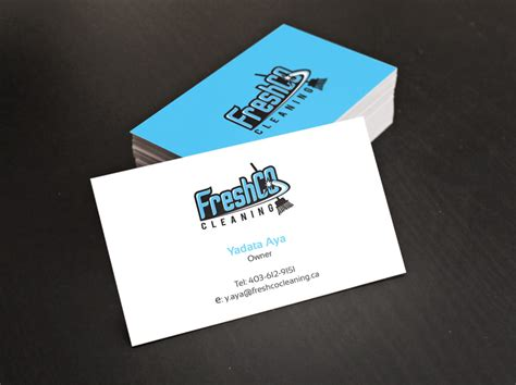 Cleaning Logos For Business Cards