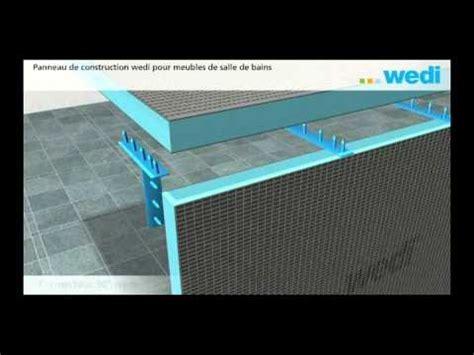 Paillasse Baignoire by Wedi Fr Construction De Meubles De Salle De