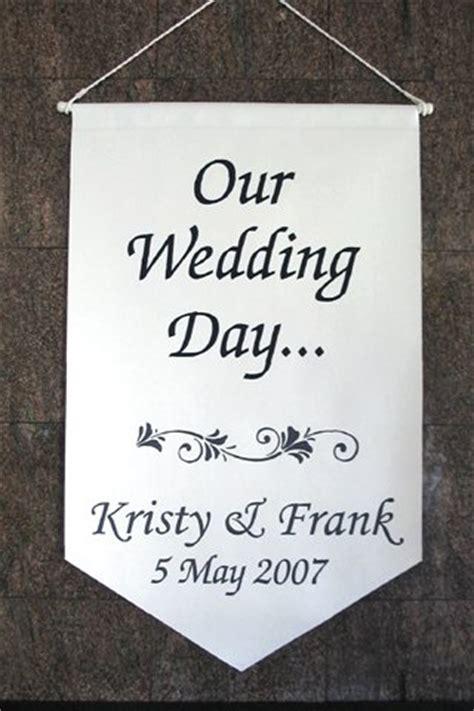 Wedding Banner Stencil by Wedding Day Bannerzapfchan Font Walltowallstencils