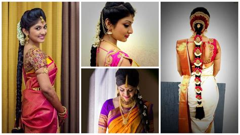 traditional hairstyles for party easy simple hairstyles for silk saree