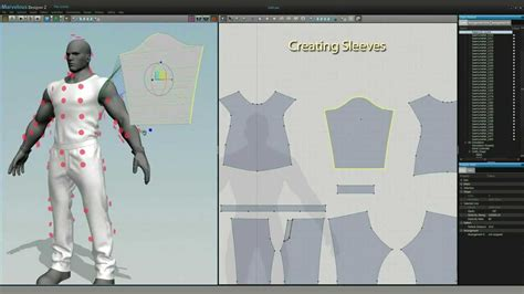 open source clothing pattern design software game character clothing design in marvelous designer md2