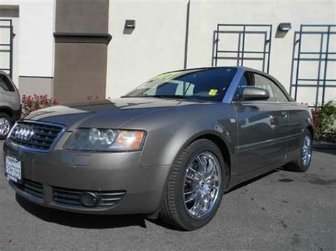 used audi for sale in california used 2004 audi a4 for sale in california carsforsale