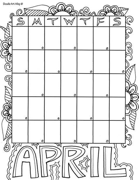 doodle calendar organiser 37 best images about coloring pages on