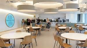 eating area inside twitter s swanky new australian office gizmodo