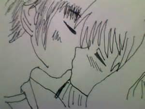 Anime love kiss drawing quotes lol rofl com