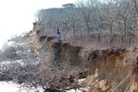 Chappaquiddick Erosion Vineyard Research In The News Harvard Forest