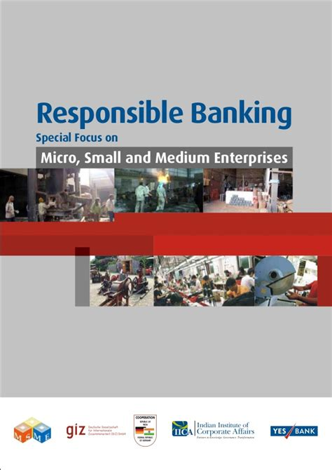 Mikro Bangking responsible banking special focus on micro small