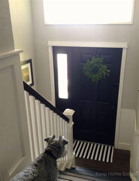split level entryway 25 best ideas about paint doors black on pinterest