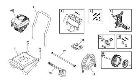 briggs and stratton pressure washer parts diagram buy briggs and stratton 020340 0 replacement tool parts