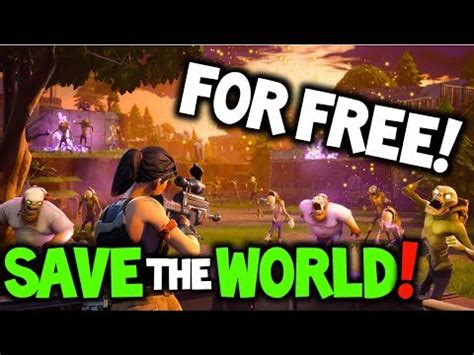 How To Save The World fortnite free save the world release date save